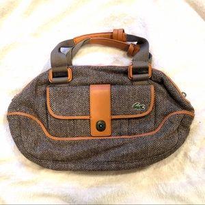 Lacoste tweed bag